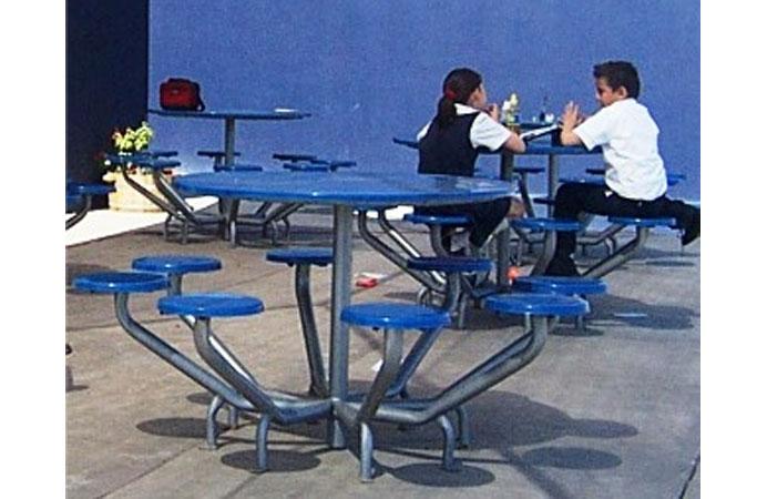 Mesa Redonda de Ocho asientos